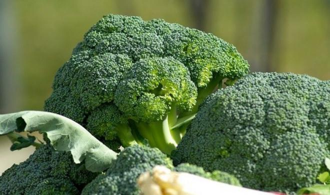 6. borkoli dan sayuran hijau